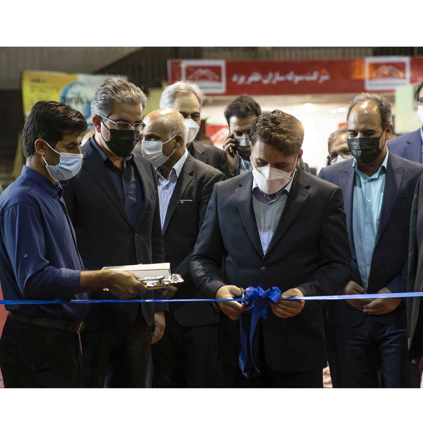 نمایشگاه مصالح و تاسیسات ساختمانی در یزد گشایش یافت